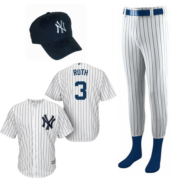 pretty nice 2330b 23a0f Babe Ruth Costume for Kids