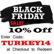 Black Friday - Cyber Monday Sale 2014