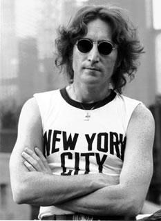 Image result for john lennon new york city t shirt