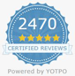 Over 2500 Reviews from Real Customers - Certified by Yotpo
