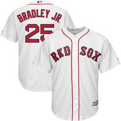 Jackie Bradley Jr Youth Jersey - Boston Red Sox Replica Kids Home Jersey Photo