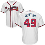 Julio Teheran Youth Jersey - Atlanta Braves Replica Kids Home Jersey