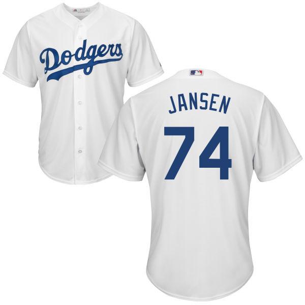 Kenley Jansen Youth Jersey - LA Dodgers Replica Kids Home Jersey photo