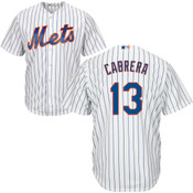 Asdrubal Cabrera Youth Jersey - NY Mets Replica Kids Home Jersey