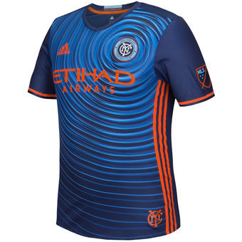 MLS New York City FC Men's Alternative Replica Soccer Jersey photo
