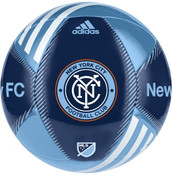 NYC FC Adidas MLS Team Soccer Ball