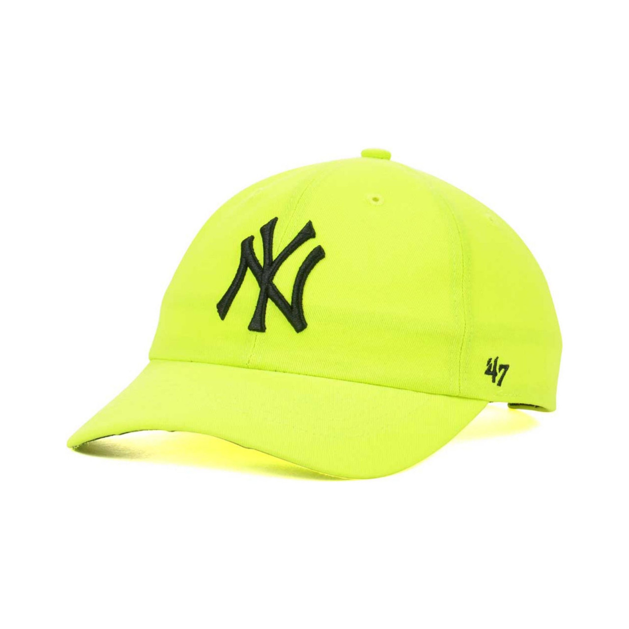 "New York Yankees Neon ""Cleanup"" Adjustable Cap  photo"