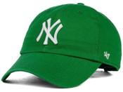 "New York Yankees Green ""Cleanup"" Adjustable Cap"