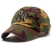 "New York Yankees Camo ""Cleanup"" Adjustable Cap"