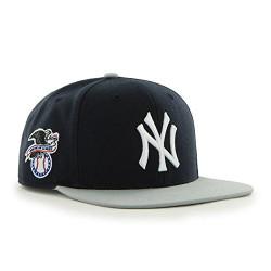 New York Yankees Sure Shot Navy/Grey Adjustable Snapback  Photo