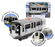 MTA Motorized Subway Car With Lights & Sound and Working Doors