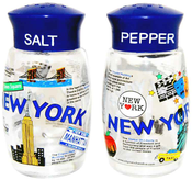 NYC Collage Salt & Pepper Shakers