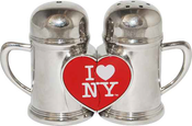 I Love NY Magnetic Salt & Pepper Shakers