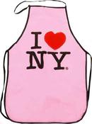 I Love NY Apron-Pink