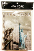 NYC Statue of Liberty Spiral Notebook