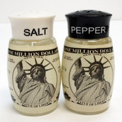 One Million Dollars Salt & Pepper Shaker Set