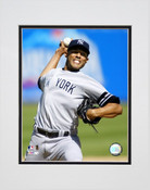 Mariano Rivera Going For The Strikeout Matted 8x10