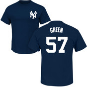 Chad Green T-Shirt - Navy NY Yankees Adult T-Shirt