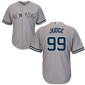 Aaron Judge Youth Jersey - NY Yankees Replica Kids Road Jersey