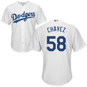 Jesse Chavez Youth Jersey - LA Dodgers Replica Kids Home Jersey
