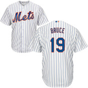 Jay Bruce Jersey - NY Mets Replica Adult Home Jersey