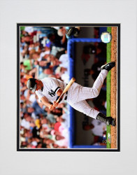 Jorge Posada Swinging Matted 8x10