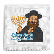 Jews Do It For 8 Nights Condom