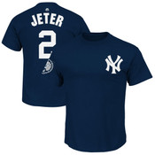 Derek Jeter Retirement Day Name and Number T-Shirt