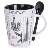 Popular Sites NYC 13oz. Mug- Black