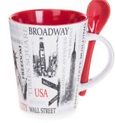 Popular Sites NYC 13 oz. Mug- Red