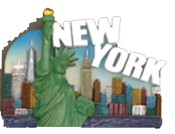 New York Colorful Magnet  photo
