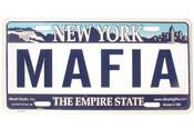 Mafia NY License Plate