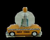 New York Taxi 65mm Snow Globe