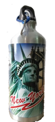 New York Statue of Liberty 750ML Travel Mug