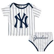 NY Yankees Baby Pinstripe 2-pc. Set