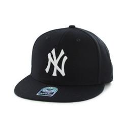 New York Yankees Navy Adjustable Sure-Shot Snapback  Photo