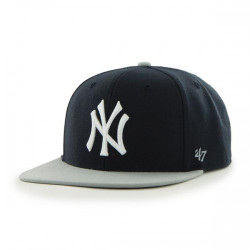 New York Yankees Navy & Gray Adjustable Sure-Shot Snapback  Photo