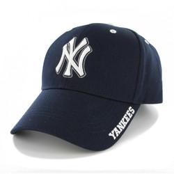 NY Yankees Navy MVP Adjustable Cap  Photo