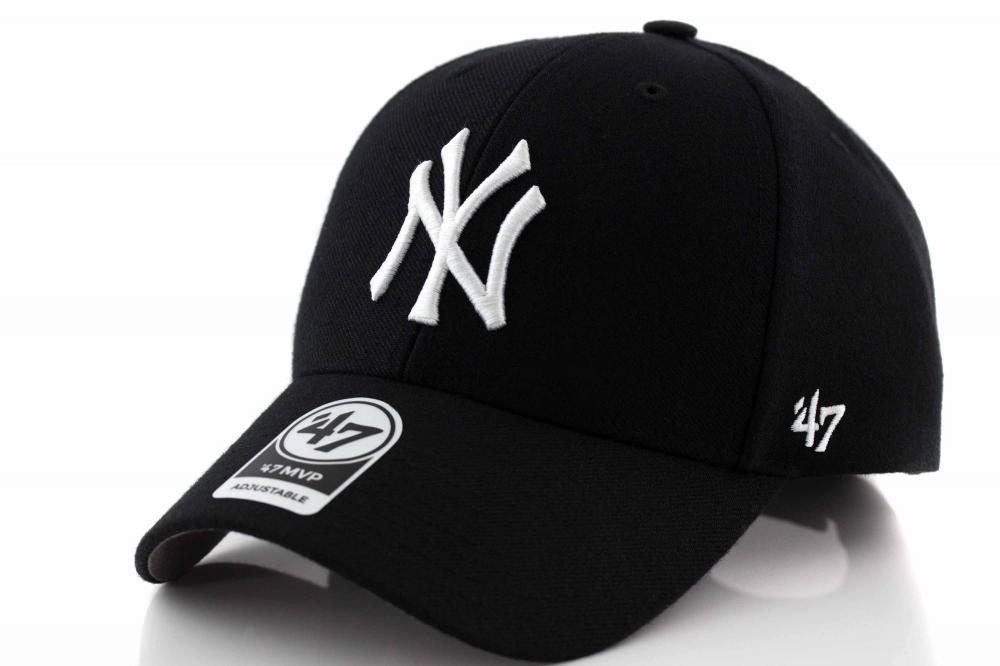 NY Yankees Original Black MVP Adjustable Cap  photo