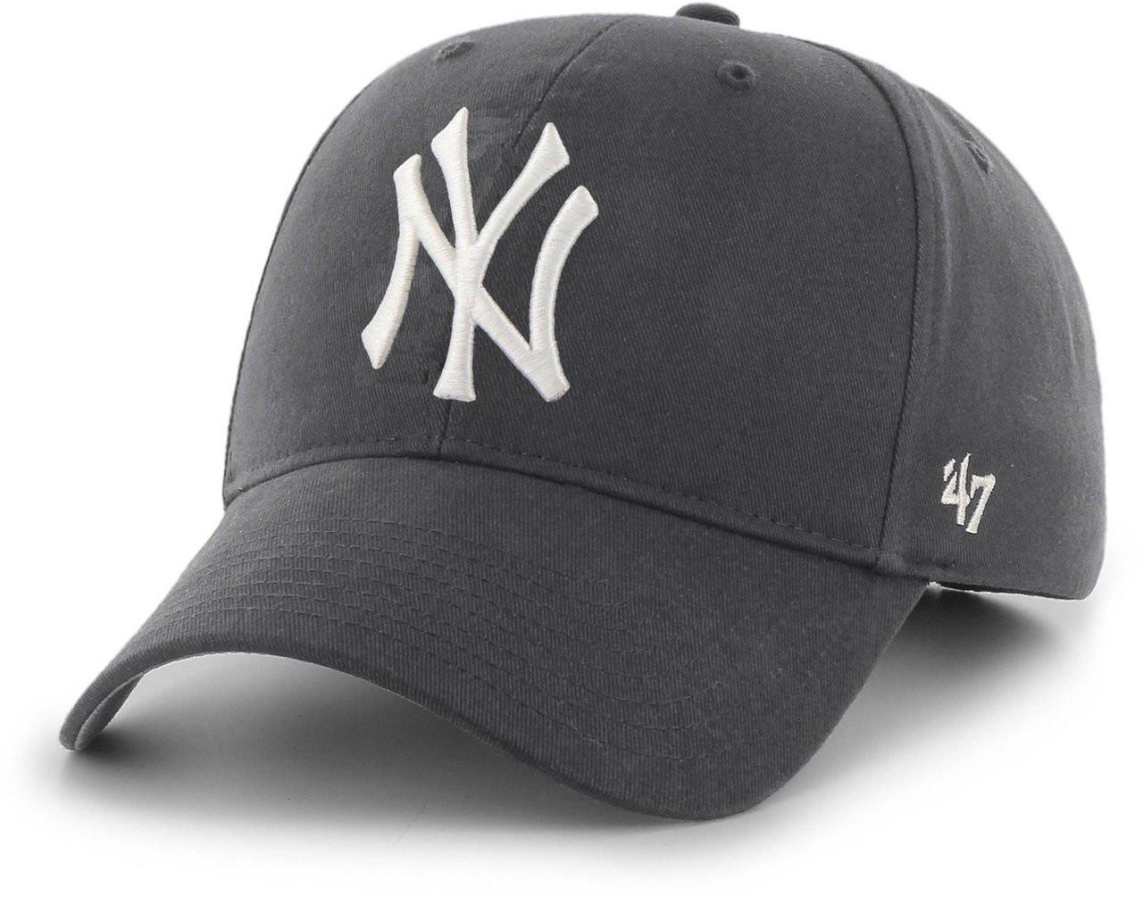 NY Yankees Original Gray MVP Adjustable Cap  photo