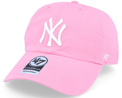 NY Yankees Pink Clean Up Adjustable Cap Photo