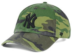 NY Yankees Camouflage Clean Up Adjustable Cap Photo