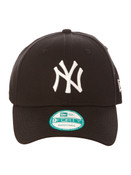 NY Yankees Black Nine Forty Adjustable Cap