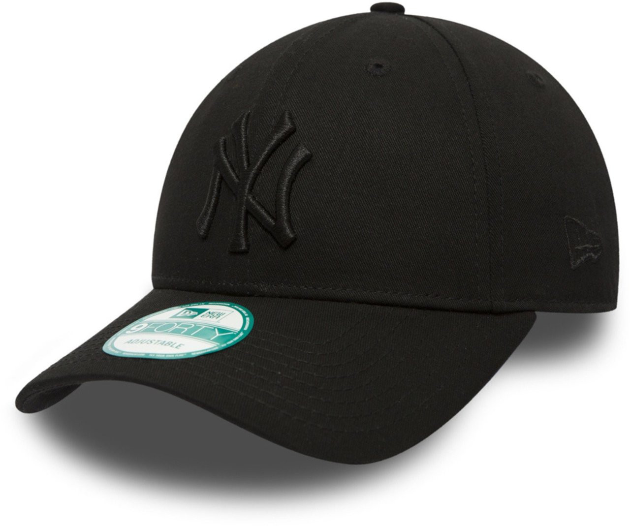NY Yankees Black/Black Nine Forty Adjustable Cap photo