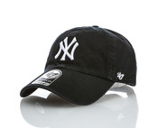 NY Yankees Black Clean Up Adjustable Cap