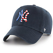 NY Yankees Navy Stars and Stripes Clean Up Adjustable Cap