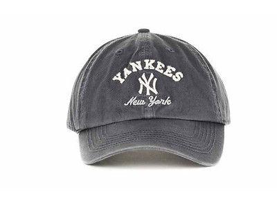 New York Yankees Navy Clean Up Adjustable Cap photo