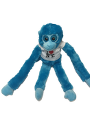 I Love NY Blue Plush Screaming Monkey with Sparkly Eyes