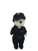 Plush American Hero Police Man