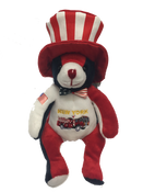 New York Patriotic Stars and Stripes Plush Teddy